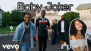 Young Dolph X Key Glock   Baby Joker (Official Video)   Reaction