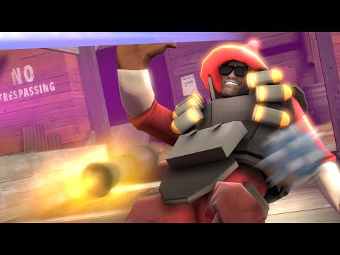 Playing TF2 In Slow Motion! Enter The Matrix