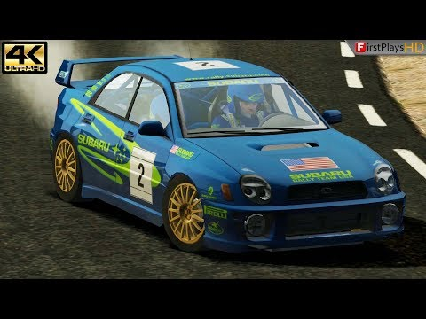 Colin McRae Rally 3 (2003) - PC Gameplay 4k 2160p / Win 10