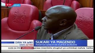 Maafisa kadhaa wa serikali wakataa kufika bungeni kujibu maswali kuhusiana na sukari ya magendo