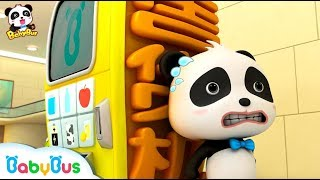 Vending Machine Got Sick | Police Cartoon, Learn Colors | Kids Cartoon | Funny Cartoon | BabyBus