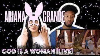 ARIANA GRANDE - GOD IS A WOMAN   2018 MTV VIDEO MUSIC AWARDS LIVE PERFORMANCE   REACTION