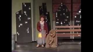 "Ariana Grande 8 years old debut in Annie as Annie singing ""Tomorrow"" with Interviews"