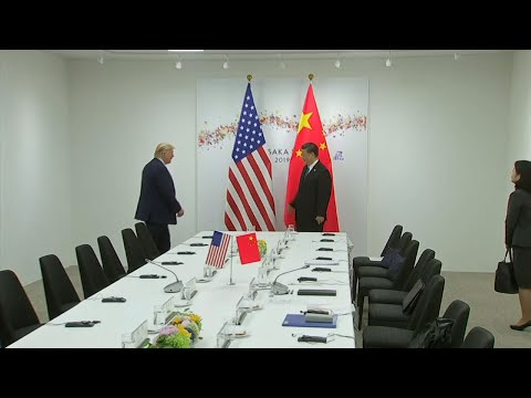 Presidents Donald Trump and Xi Jinping have hit the reset button in trade talks between the world's two biggest economies, at least delaying an escalation in tension that had financial markets on edge and cast a cloud over the global economy. (June 29)
