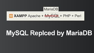 MySQL Replaced by MariaDB in XAMPP (Hindi)