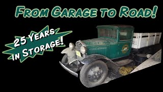 1931 Model AA Ford Truck From Garage to Road - Start to Finish! 25 Years in Storage!  #barnfind