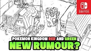 Pokemon Switch 2019 Generation 8 New Rumour!? Pokemon Kingdom Red & Green Rumour with Open World!?