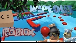 Family Game Nights Plays: Roblox   Longest Wipeout In Roblox (PC)