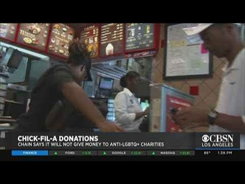 Chick-fil-A To Stop Donating To Charities Associated With Anti-LGBTQ Beliefs