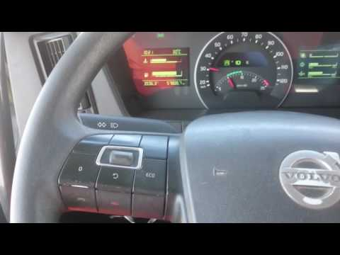Aplicación de freno de motor en Volvo FMX 480 I shift