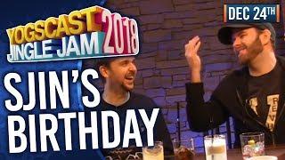 SJIN'S BIRTHDAY PARTY w/ SJIN, LEWIS, TURPS & LEO - YOGSCAST JINGLE JAM! - 24th December 2018