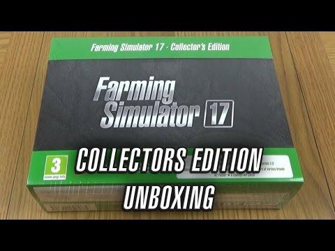 Farming Simulator 17 | Collectors Edition | Unboxing