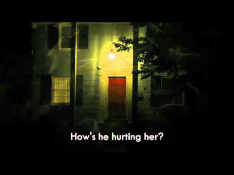 911 domestic violence call from a child witnessing abuse