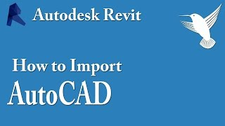 How To Import AutoCAD file into Revit - Video Tutorial