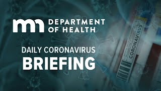 March 27: Gov. Walz & MDH coronavirus briefing