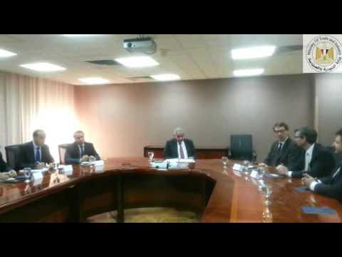 لقاء الوزير/ طارق قابيل بوفد من شركة مرسيدس بنز العالمية