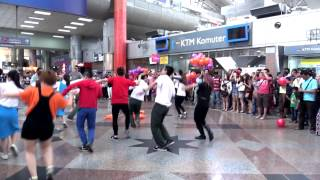 Flashmob  at KL Sentral for NU Sentral