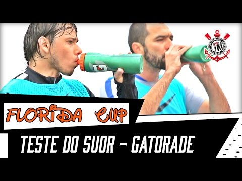 Florida Cup | Teste do Suor - Gatorade