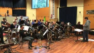 MO Big Band rehearsal Oliver Nelson project