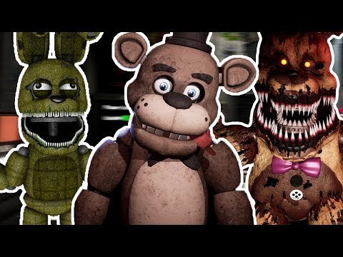 PLUSHTRAP REACTS TO: FNAF VR: Help Wanted Steam Page and New Images Revealed!!!