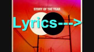 Story Of The Year - To The Burial - Lyrics
