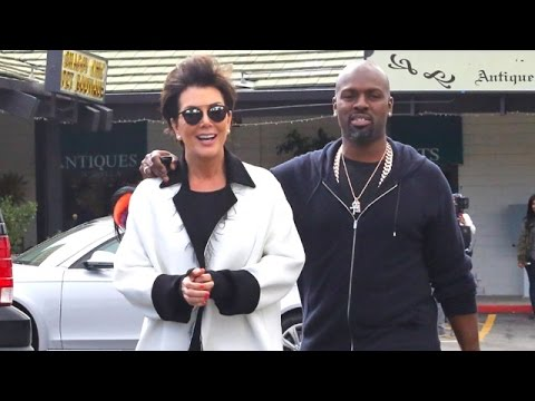 Kris Jenner Looking So In Love With Corey Gamble While Antique Shopping