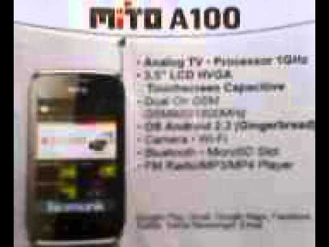 Ponsel Hp Android Mito A100 Gngrbread Mp3