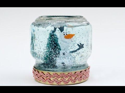 Снежный Шар Детские Поделки Своими Руками Видео / Идеи подарков на Новый год своими руками 2019