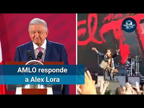 Alex Lora es un rockero conservador: AMLO