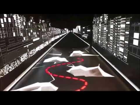 Tunel Inmersivo con pantallas LED Adidas
