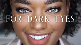 Best Coloured Contact Lenses For Dark Brown Eyes | TTDEYE / COLORCL Try On Review || Naomi Christina