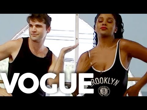 We Got a Lesson in VOGUING (Get Jacked)