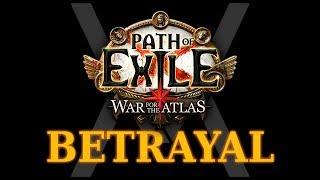 Path of Exile 3.5 - Betrayal - Гайд по лиге Предательство