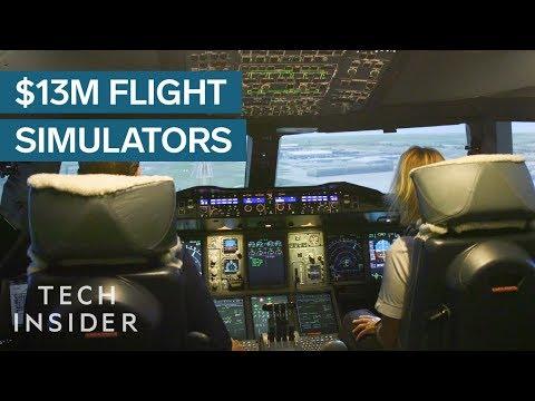 What It's Like Inside a $13 Million Flight Simulator