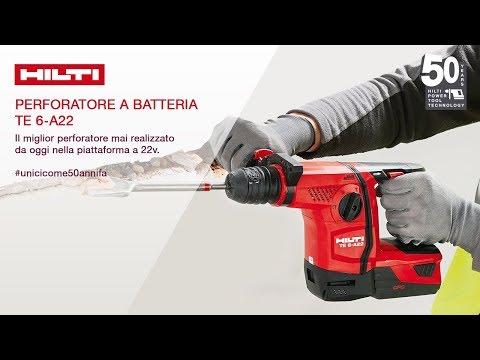 Perforatore a batteria TE 6-A22: #unicicome50annifa