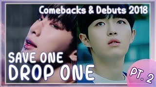 [KPOP GAME] SAVE ONE DROP ONE COMEBACK EDITION  PART2  (2018)