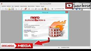DESCARGAR NERO 8 PARA WINDOWS 7, 8, 10 (NO NECESITA CRACK)