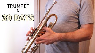 Learn trumpet in 30 days challenge