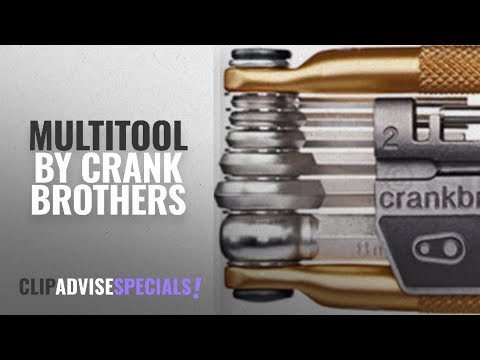 Top 5 Crank Brothers Multitool [2018]: Crank Brothers Multi Bicycle Tool (17-Function, Gold)