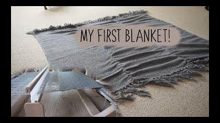 My First Blanket! - Weaving On The Ashford Rigid Heddle Loom