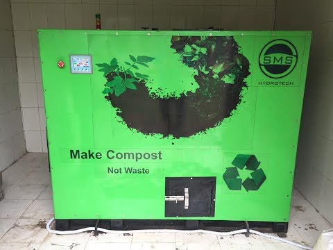Garden Waste Compost Machine