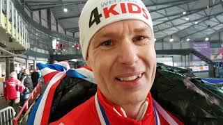 NK Marathonschaatsen, de strijd bij de masters