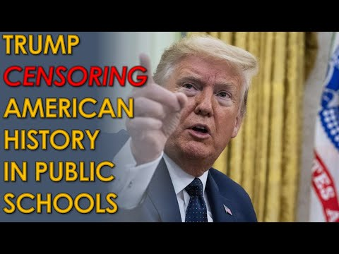 Donald Trump CENSORING 1619 Project by defunding schools that teach it