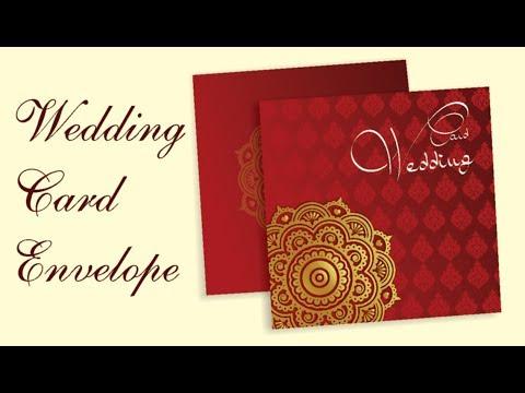 Coreldraw Tutorial - Wedding Card Envelope Design - 2018