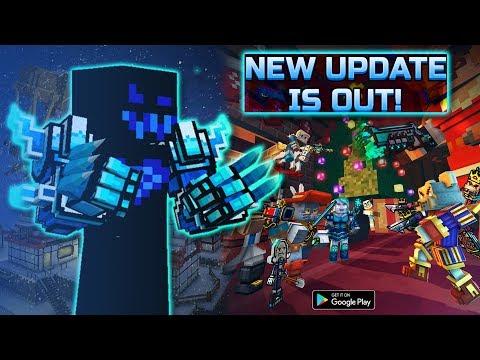 New Update 17.1 : Pixel Gun 3D - New battle pass, remastered map