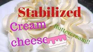 how to make buttercream with cream cheese