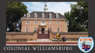 Tour of Colonial Williamsburg, Virginia