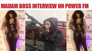 MADAM BOSS interview on POWER FM 05Feb2019
