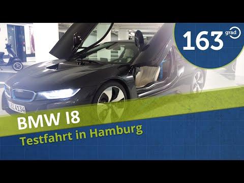 2014 BWM i8 Probefahrt Reichweite Fahrbericht Test Review BMWi8 Hybrid #163Grad