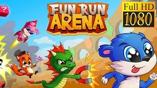 Fun Run Arena Multiplayer Race Game Review 1080P Official Dirtybit Arcade 2016